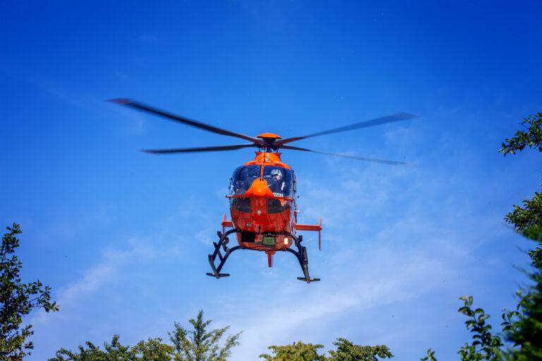 Read more about the article Neu : Gestern war der Rettungshubschrauber im MKK unterwegs